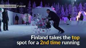 Finland is the world's happiest country again [Video]