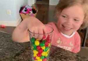 Child Has Hilarious Reaction to Trying Jalapeno M&M's [Video]