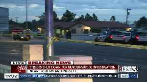 Streets shut down due to homicide investigation [Video]