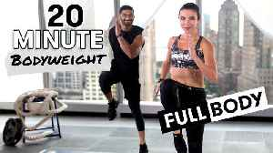 20-Minute HIIT Full Body Bodyweight Workout [Video]