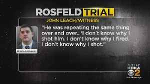 Testimony Continues On Day 2 Of Rosfeld Trial [Video]