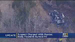 Suspect Charged With Murder; Body Found In Burned TV [Video]