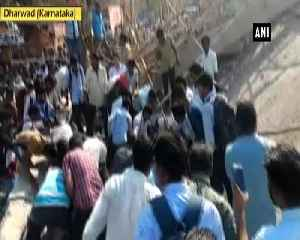 Under-construction building collapses in Karnatakas Dharwad several feared trapped [Video]