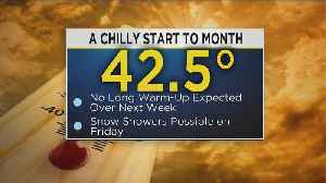 KDKA-TV Afternoon Forecast (3/20) [Video]