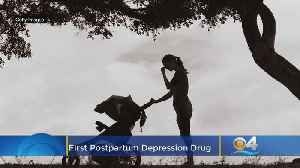 First Postpartum Depression Drug Approved By FDA [Video]