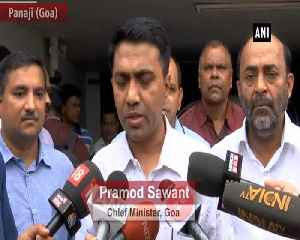 Will try my best to work as effective as Manohar Parrikar used to do Goa CM Sawant [Video]