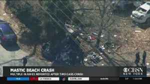 Baby, Woman Seriously Injured In Mastic Beach Crash [Video]