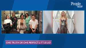 The Cast of 'Pretty Little Liars: The Perfectionists' Play 'One Truth Or One Perfect Little Lie' [Video]
