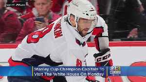 Stanley Cup Champion Capitals To Visit Trump At White House [Video]