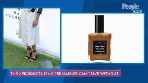 The 7 Products Jennifer Garner Can't Live Without [Video]