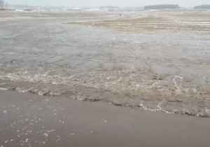Melting Snow Leads to Flooding on Wisconsin Farmland [Video]
