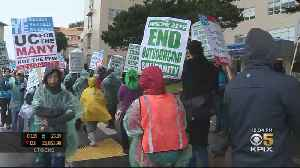 UC Research And Technical Workers Walk Picket Lines For One-Day Strike [Video]