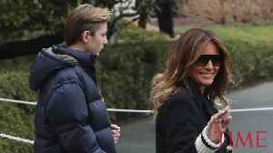 Barron Trump is Officially a Teenager [Video]
