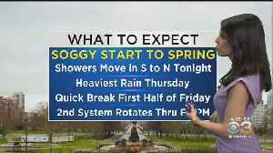 Philadelphia Weather: Soggy Thursday In Store [Video]