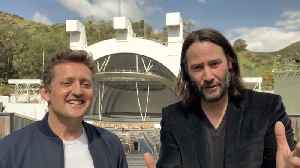 Keanu Reeves And Alex Winter Announce 'Bill & Ted 3' [Video]