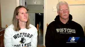 Father & daughter head to Florida for Wofford game [Video]