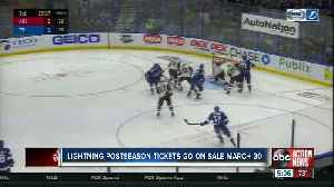 When and where to buy Lightning first round playoff tickets [Video]