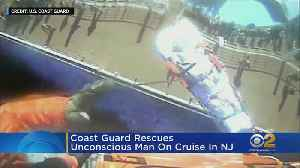 Coast Guard Rescues Man From NJ Cruise Ship [Video]