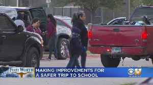 Improvements Underway In Fort Worth For Safer Trip To School [Video]