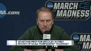 News video: Tom Izzo, Michigan State hoping this year's team will break recent trend of early NCAA exits