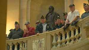Minnesota Veterans Rally At State Capitol [Video]