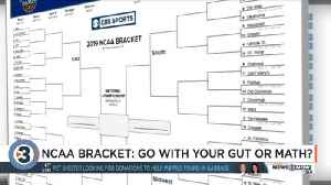 Filling out your NCAA bracket: Do you go with your gut or look at the statistics? [Video]