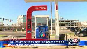 People complaining of vehicle damage after water got into gas supply at Huntsville Exxon [Video]