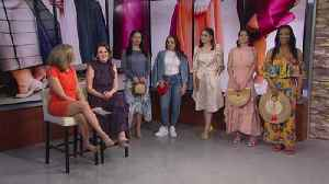 Spring-to-summer fashion trends [Video]