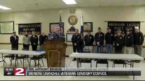 Brindisi develops plan to better serve NY-22 veterans [Video]