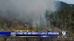 Evacuations in place as Santiam Park Fire grows in Lyons [Video]