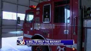 Firefighter Peer Support Group Bill heads to Governor [Video]