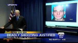 Butte County district attorney says fatal officer-involved shootout was justified [Video]