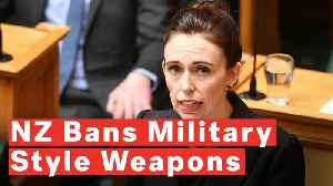 New Zealand Bans 'Every Semi-Automatic Weapon Used In The Terrorist Attack' [Video]