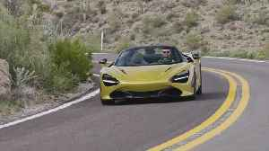 McLaren 720S Spider in Aztec Gold Driving Video [Video]