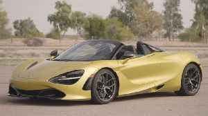 McLaren 720S Spider Design in Aztec Gold [Video]