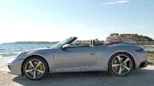 Porsche 911 Carrera S Cabriolet GT Design in Silver Metallic [Video]