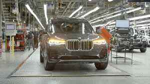 Production of the BMW X7 Assembly [Video]
