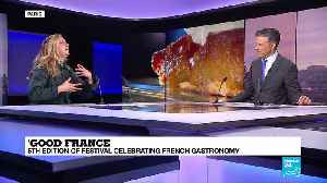 'Good France': 5th edition of festival celebrating French gastronomy [Video]