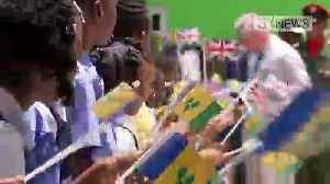 Charles and Camilla visit St Vincent and the Grenadines [Video]