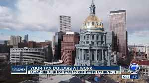 Colorado lawmakers push bill to ask voters to let state keep, spend 'excess' revenue above TABOR cap [Video]