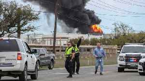 Petrochemical Fire Near Houston Extinguished, Firefighters Continue To Monitor [Video]