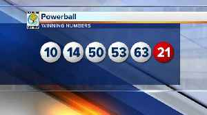 No winner in Wednesday's Powerball drawing, jackpot grows to $625M [Video]
