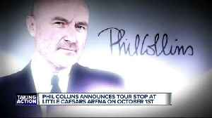 Phil Collins announced tour stop at Little Caesars Arena this fall [Video]