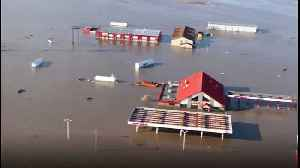 Iowa Town Submerged as Missouri River Flooding Continues [Video]