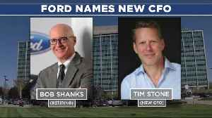 Ford names Tim Stone as new CFO [Video]