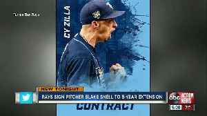 Rays sign Cy Young pitcher Blake Snell to 5-year, $50 million contract [Video]