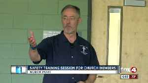 Personal tragedy motivates security expert to teach pastors safety in church [Video]