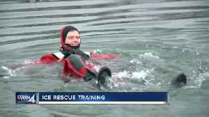 TODAY'S TMJ4's Ben Jordan discovers the challenges in making ice rescues [Video]