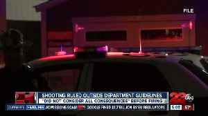 Officials detail why police shooting was not within department guidelines [Video]