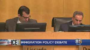 Murder Spurs Heated Debate On Santa Clara County's Policy Of Non-Cooperation With ICE [Video]